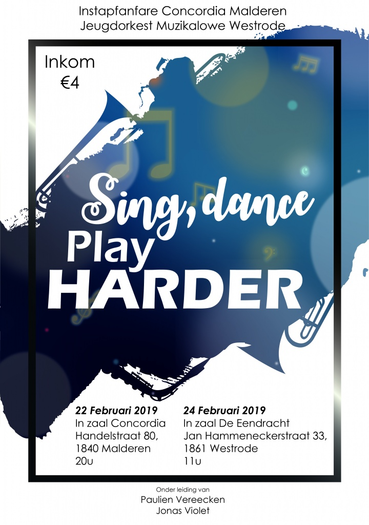 Sing, dance. Play HARDER